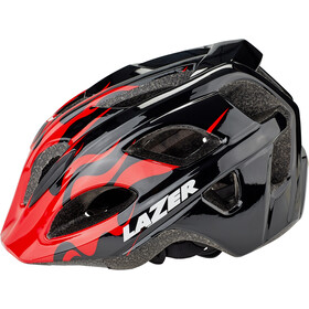 Lazer Nut'Z Casco Niños, red flames